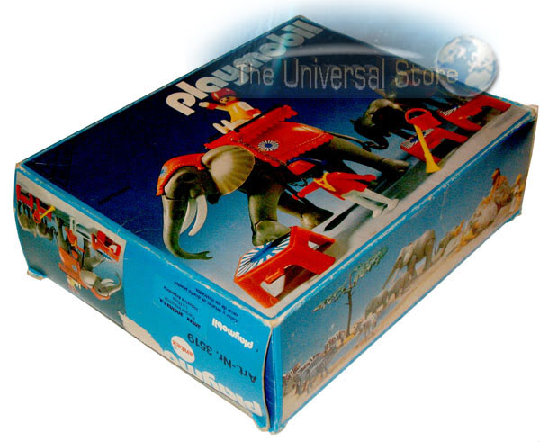 Playmobil 3519-ant - Circus Elephants & Trainers - Box