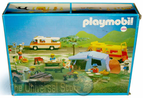 Playmobil 3941v1-ant - Picnic and Barbecue - Box