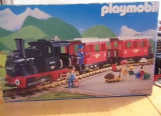 Playmobil - 4003-ukp - Passenger Train with Steam Locomotive
