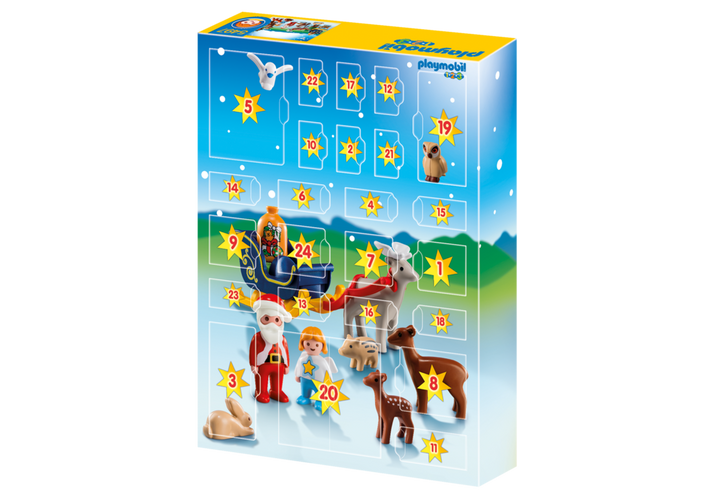 Playmobil 5497 - Advent Calendar Christmas in the Forest - Back
