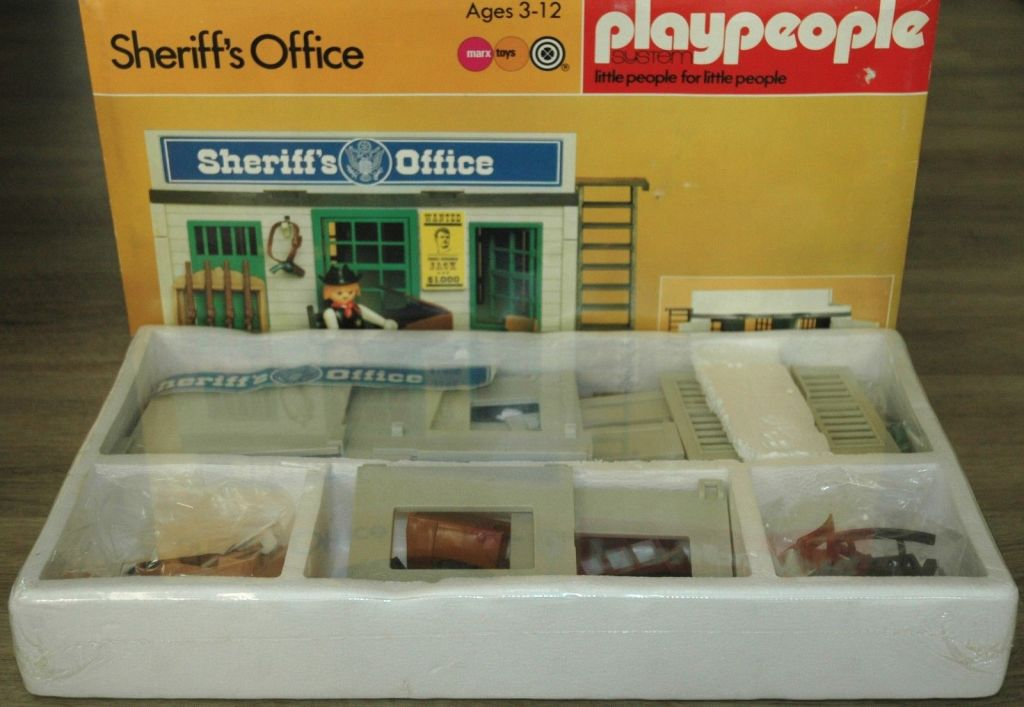 Playmobil 2510-pla - Sheriff's Office - Box