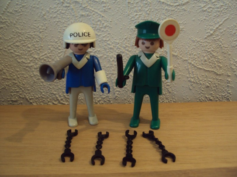 Playmobil 3167 - Police - Back