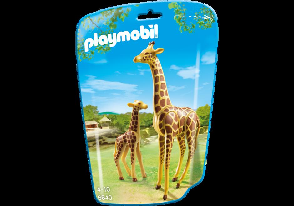 Playmobil 6640 - Giraffe with baby - Box