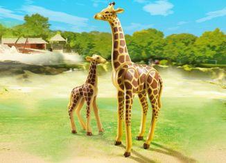 Playmobil - 6640 - Giraffe with baby