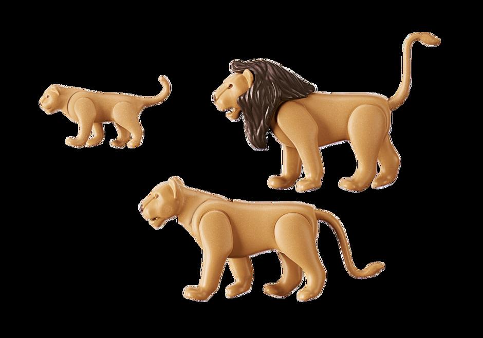 Playmobil 6642 - Lion Family - Back