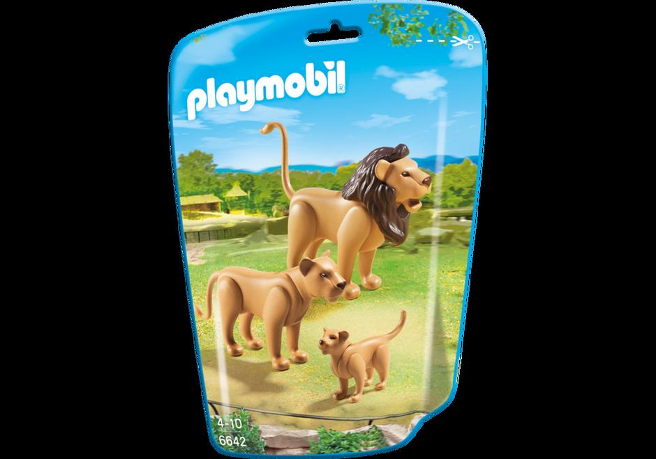 Playmobil 6642 - Lion Family - Box