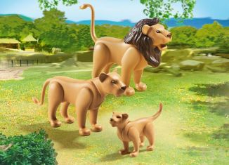 Playmobil - 6642 - Lion Family