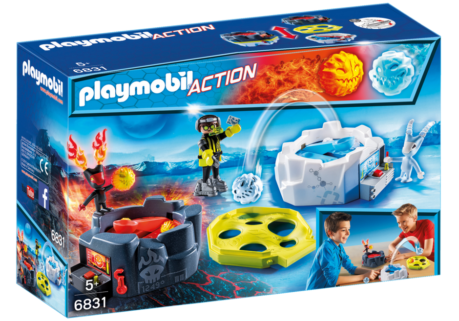 Playmobil 6831 - Fire and ice action game - Box