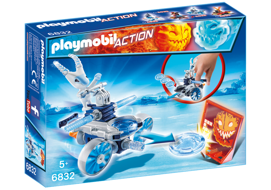 Playmobil 6832 - Ice alien with spacecraft - Box