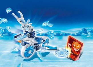 Playmobil - 6832 - Ice alien with spacecraft