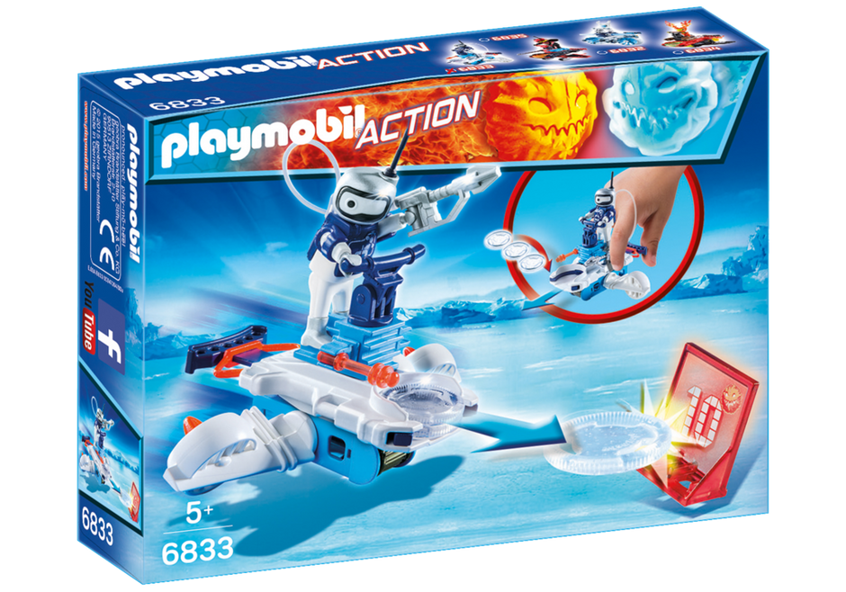 Playmobil 6833 - ice android with spacecraft - Box
