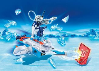 Playmobil - 6833 - ice android with spacecraft