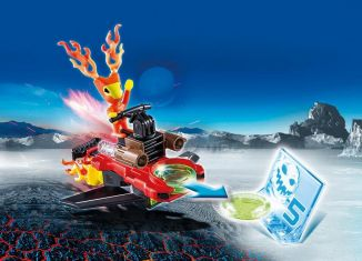 Playmobil - 6834 - Fire alien with spacecraft
