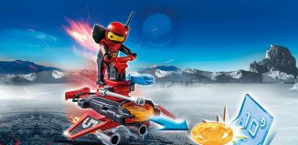 Playmobil - 6835 - Fire android with spacecraft