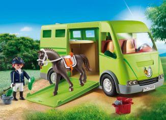 Playmobil - 6928 - Horse transport van