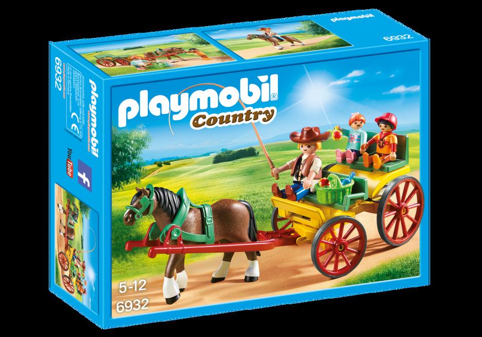 playmobil set 6932 horse drawn wagon klickypedia. Black Bedroom Furniture Sets. Home Design Ideas