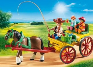Playmobil - 6932 - Horse-drawn wagon