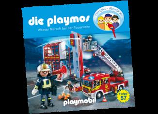 Playmobil - 80009-ger - Wasser Marsch bei der Feuerwehr - Folge 57