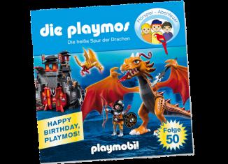 Playmobil - 80257-ger - Die heiße Spur der Drachen - Folge 50