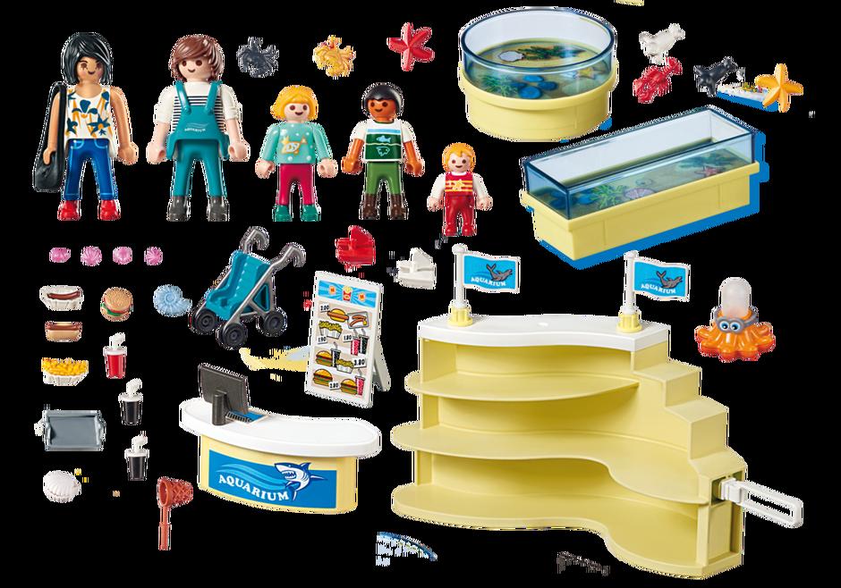 Playmobil 9061 - Aquarium Shop - Back