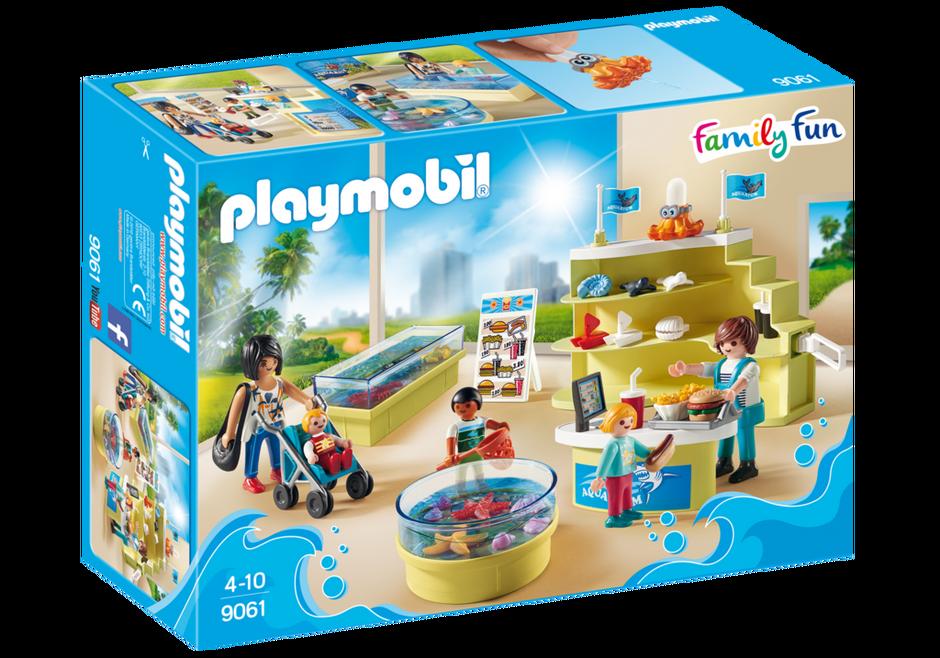Playmobil 9061 - Aquarium Shop - Box