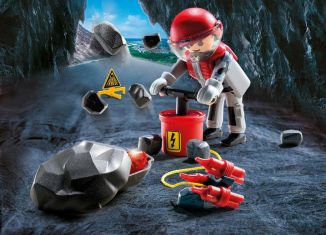 Playmobil - 9092 - Rock Blaster with Rubble