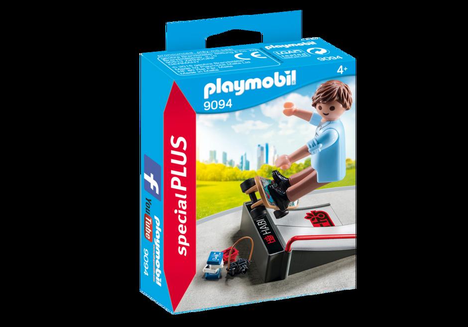 Playmobil 9094 - Skater with ramp - Box