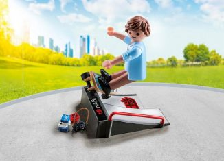 Playmobil - 9094 - Skater with ramp