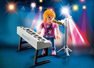 Playmobil - 9095 - Singer on the keyboard