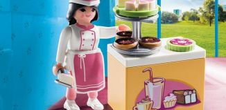 Playmobil - 9097 - Pastry maker with cake counter