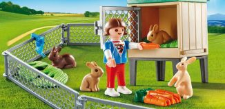 Playmobil - 9104-usa - Bunny Barn Carry Case