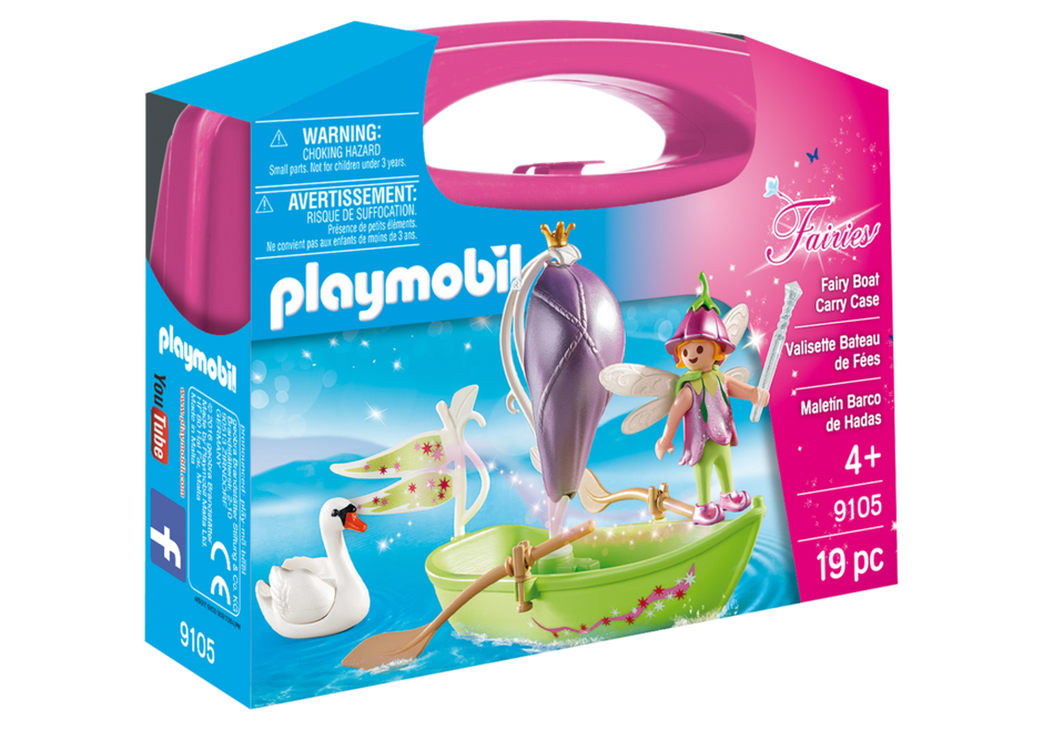 Playmobil 9105-usa - Fairy Boat Carry Case - Box