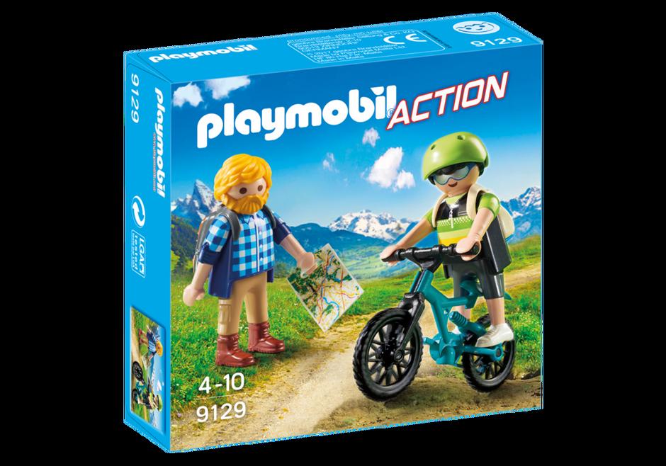 Playmobil 9129 - mountaineers - Box