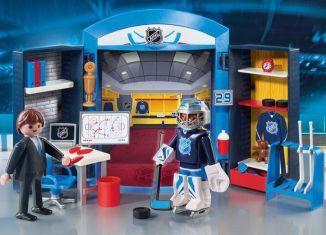 Playmobil - 9176-usa - NHL™ Locker Room Play Box