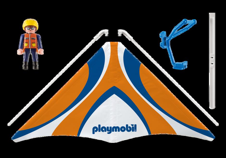 "Playmobil 9205 - Dragonflyer ""Lucas"" - Back"