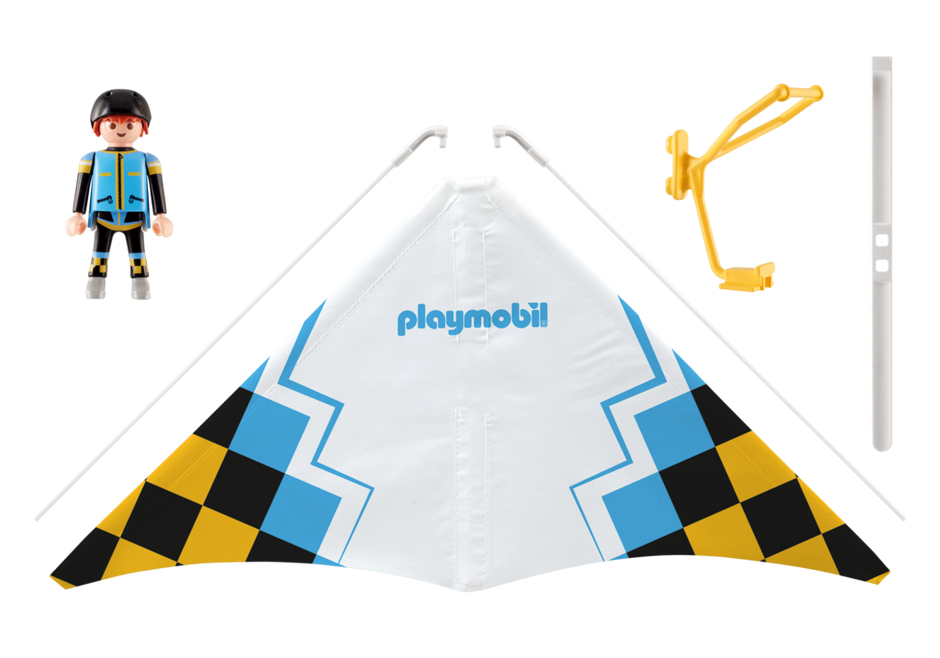 "Playmobil 9206 - Dragonflyer ""Jack"" - Back"