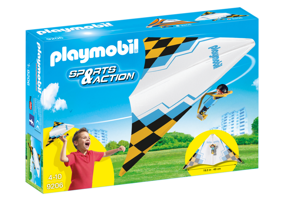 "Playmobil 9206 - Dragonflyer ""Jack"" - Box"