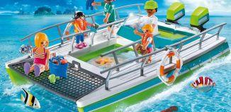 Playmobil - 9233 - Glass bottom boat with underwater motor