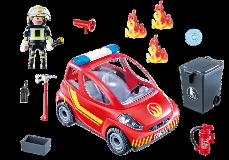 Playmobil 9235 - Firefighting vehicle - Back
