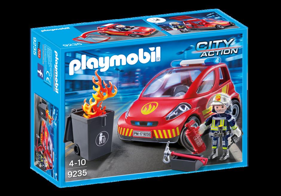 Playmobil 9235 - Firefighting vehicle - Box