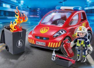 Playmobil - 9235 - Firefighting vehicle