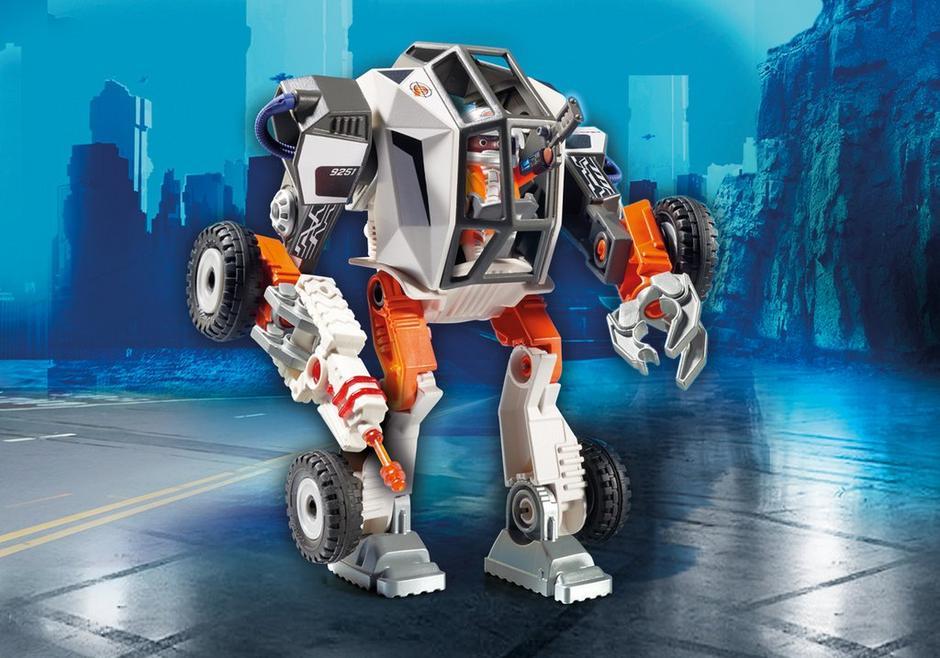 playmobil set 9251  agent tec's mech  klickypedia