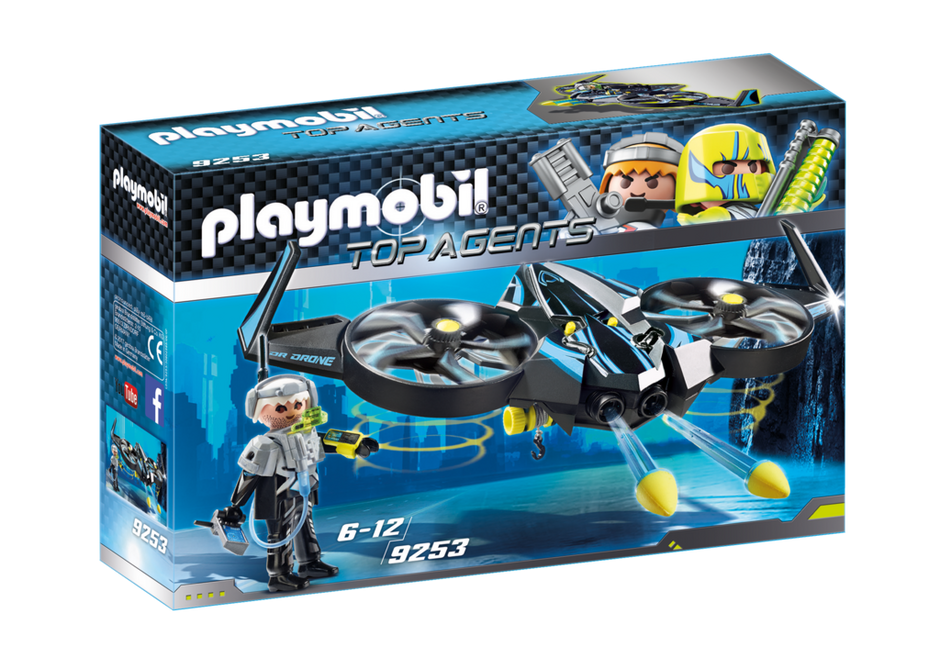 Playmobil 9253 - Mega Drone - Box