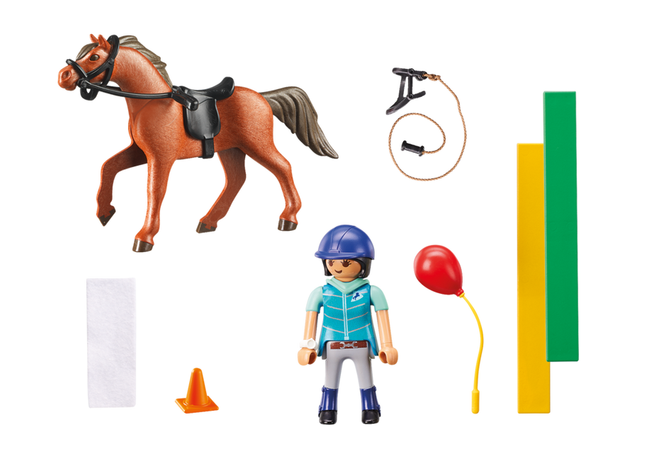 Playmobil 9259 - horse therapist - Back