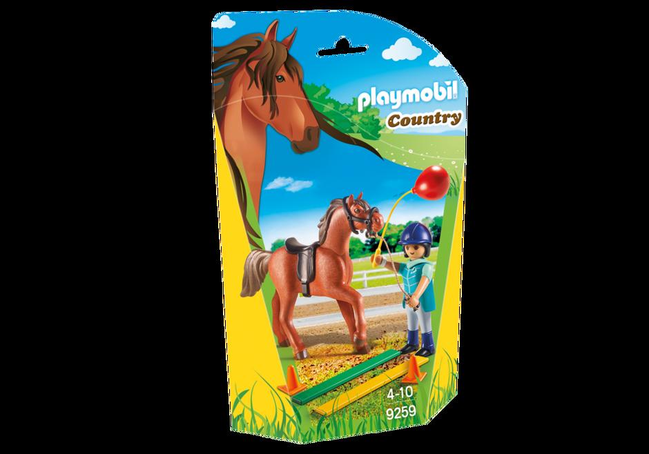 Playmobil 9259 - horse therapist - Box