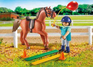 Playmobil - 9259 - horse therapist