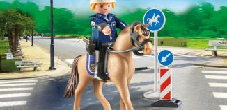 Playmobil - 9260 - Mounted policeman