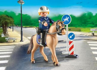 Playmobil - 9260 - Mounted policeman