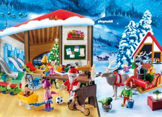 Playmobil - 9264 - Advent Calendar Elves Workshop