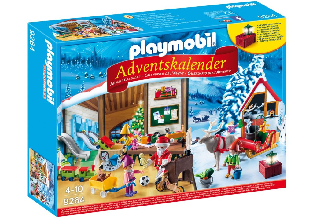 Playmobil 9264 - Advent Calendar Elves Workshop - Box